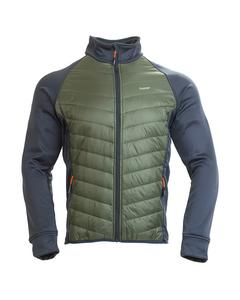 Swosh Jacket Dk Geo Green