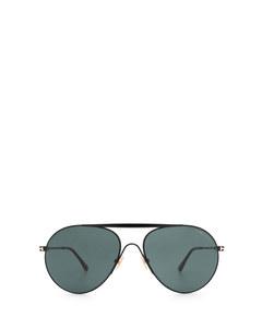 Ft0773 Shiny Black Solglasögon