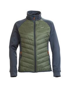 Swosh Lady Jacket Dk Geo Green