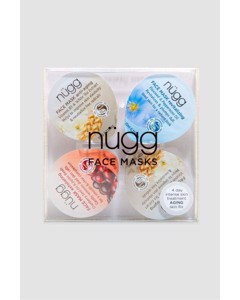 Nügg Face Mask 4-pack For Mature And Aging Skin