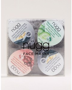 Nügg Face Mask 4-pack For Pore Cleanse
