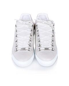 Balenciaga Classic Arena Low Leather Sneaker White