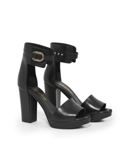 Signe - High Heel Dancing Queen Black Leather