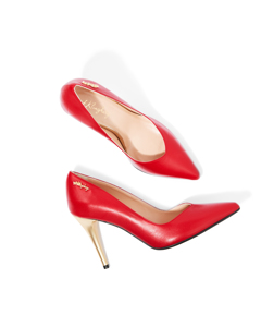 Alexandra The Pump Red Leather