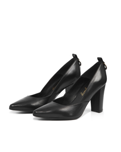 Jasmine Office Darling Pump Black Leather