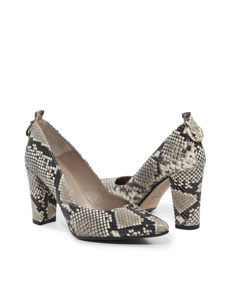 Jasmine Office Darling Pump Snake Roccia Leather