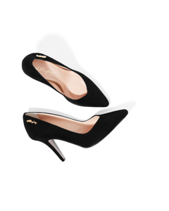 Jennifer Royal Pump Black Suede