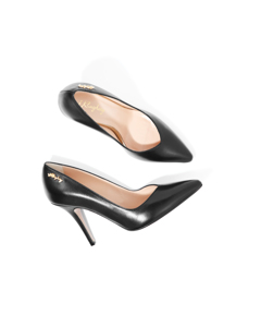 Jennifer Royal Pump Black Leather