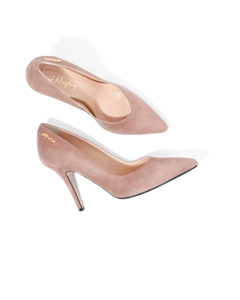 Jennifer Royal Pump Dusty Rose Suede