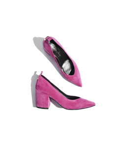 Celina The Classic Pump For Newthinkers Cerice Suede