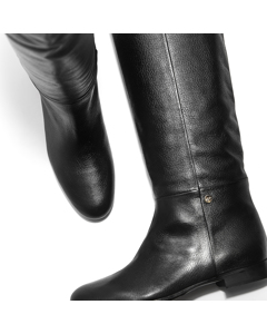 Sally - The Proof That Less Is More Boot Black Leather