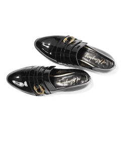 Klara - The Lovley Loafer Black Patent Leather