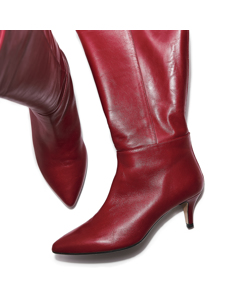 Laila - Take Me To Heaven In This Favourite Red Leather