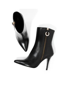 Sonia The Brave Bootie Black /black Leather
