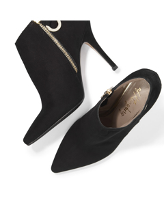 Rakel - Bootie For Fashion Queens Black Suede