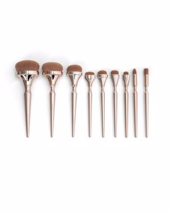 9pcs Oval Brush Mbr-oval-9 Metallic