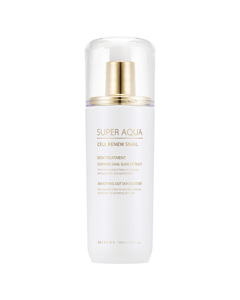 Missha Super Aqua Cell Renew Snail Skin Treatment (multi Languages) Clear