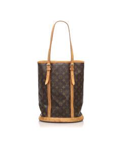 Louis Vuitton Monogram Bucket Gm Brown