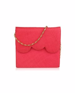 Vintage Raffia Evening Bag