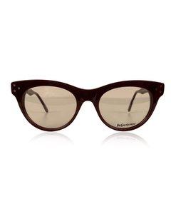 Yves Saint Laurent Vintage Burgundy Procris 52mm Eyeglasses Frame
