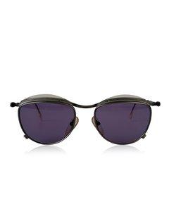 Jean Paul Gaultier Vintage Unisex Silver Gunmetal Sunglasses 56-1274