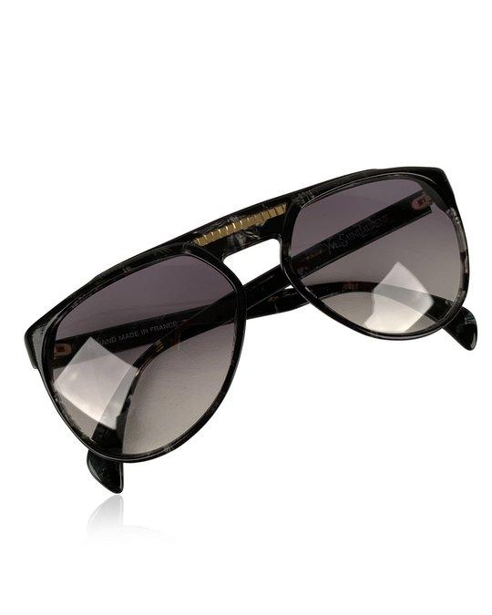 Saint Laurent Yves Saint Laurent Vintage 80s Marbled Sunglasses 8726 P093