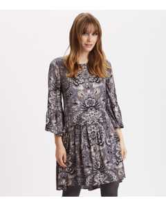 Head Turner Dress Asphalt