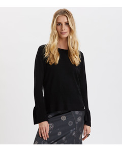 Savagely Cute Sweater Almost Black