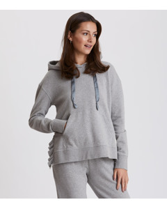 Soft Tracks Sweater Light Grey Melange