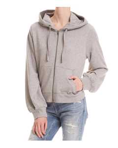 Got Your Back Hoodie Light Grey Melange