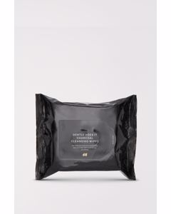 Charcoal Cleansing Wipes Black