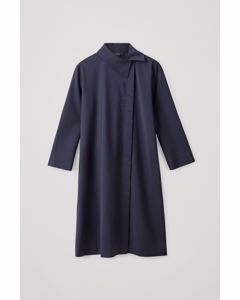 Cl E Pinga Wool Dress Blue
