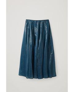 Ca T Lb Firntrim Skirt Turquoise