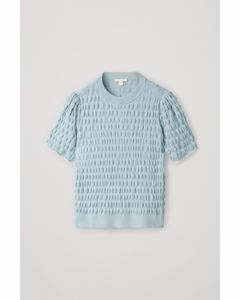 Ca M Woggle Top Turquoise