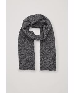 Cl E Mulder Cash Mouline Scarf Black