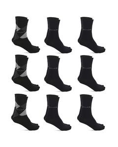 Pierre Cardin 9 Paar Casual Sokken Zwart