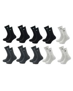 Pierre Cardin 10 Paar Casual Sokken Zwart