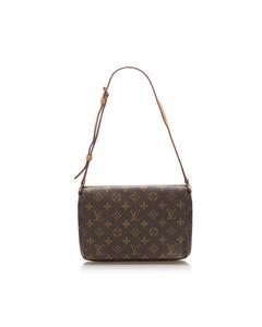 Louis Vuitton Monogram Musette Tango Short Strap Brown