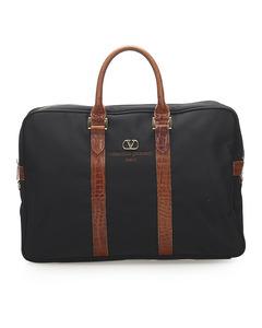 Valentino Nylon Sport Business Bag Black