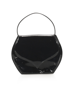 Ysl Patent Leather Handbag Black