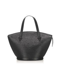 Louis Vuitton Epi Saint Jacques Gm Long Strap Black