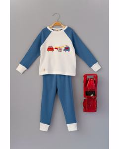 3 Vehicle Applique Pyjama