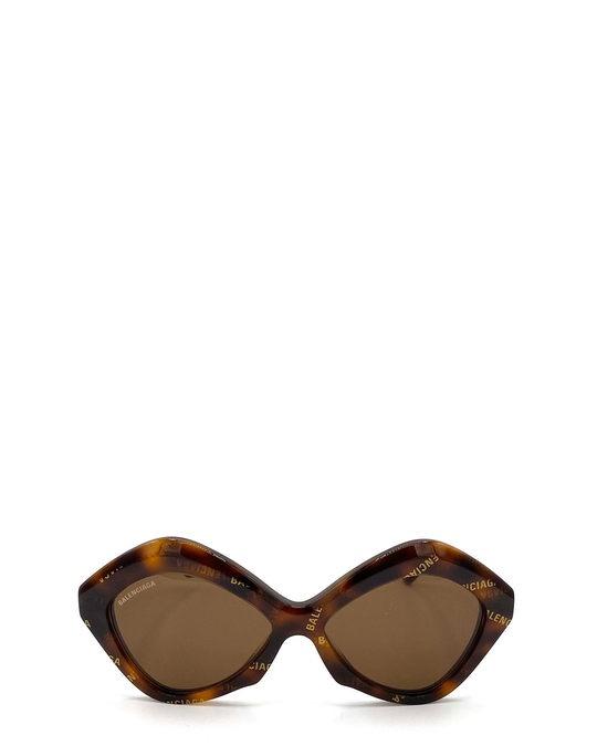 Balenciaga Bb0125s Havana Sunglasses