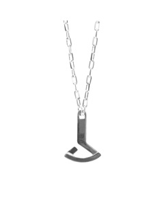 Anchor & Crew Frigate Anchor Flotilla Silver Necklace Pendant
