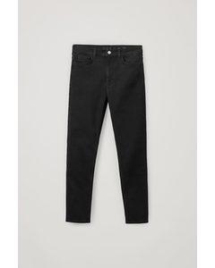 Skinny Mid-rise Jeans Black