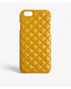 iPhone 6/6s Quilted Nappa Saffron