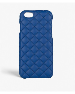 iPhone 6/6s Quilted Nappa Cobalt Blue