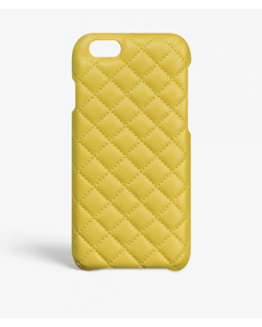 iPhone 6/6s Quilted Nappa Yellow
