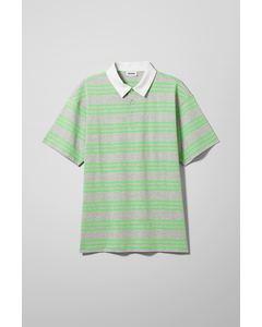 Ian Striped Polo Grey/Striped