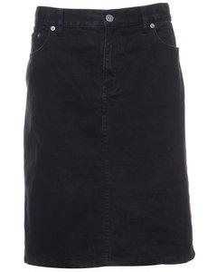 1990s Denim Ralph Lauren Midi Skirt
